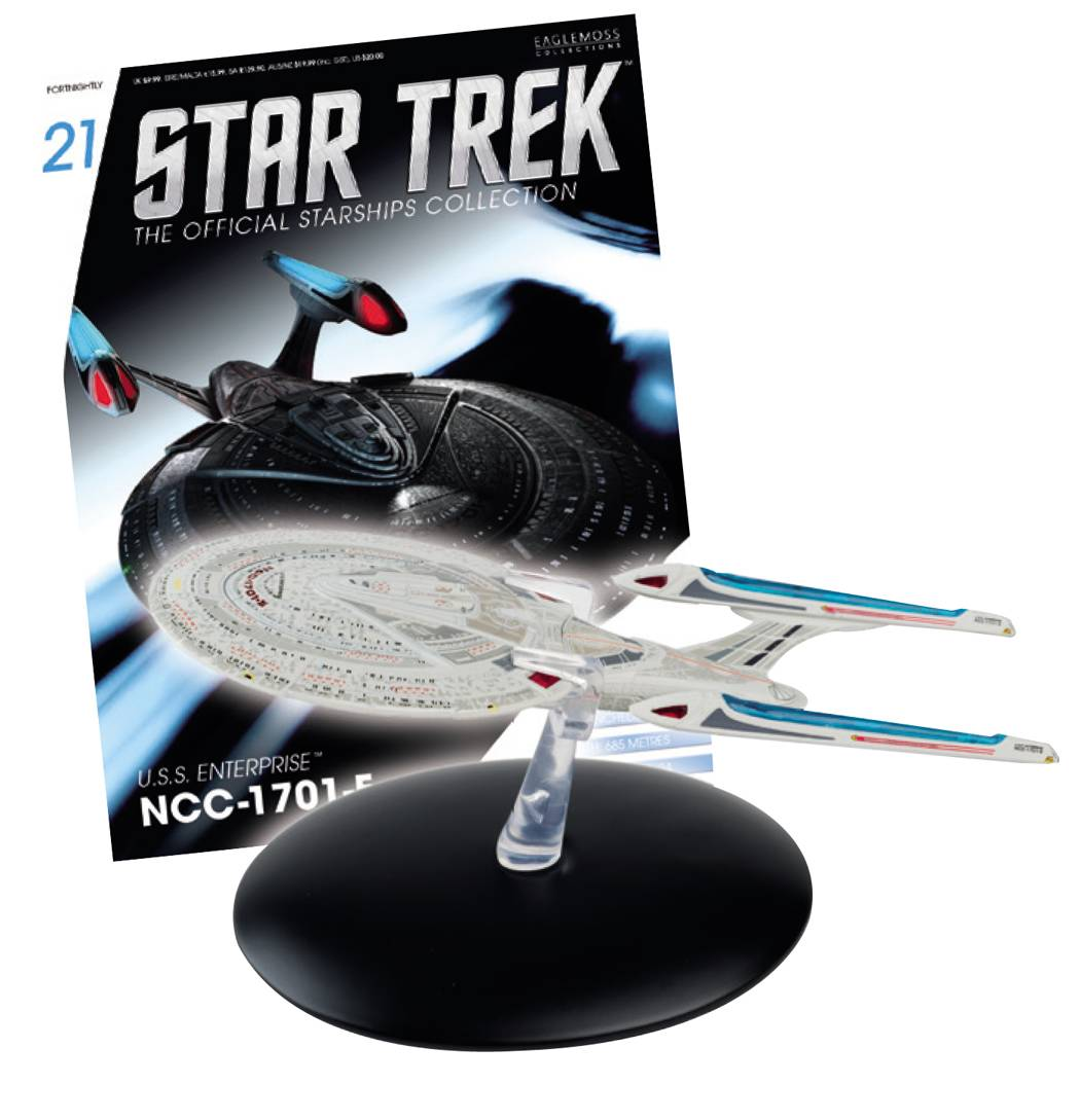 Eaglemoss Star Trek #021 USS Enterprise-E Starship