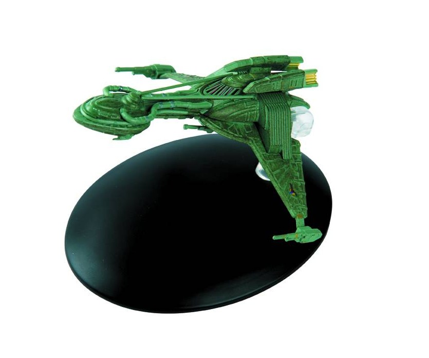Eaglemoss Star Trek #035 Early Klingon Bird-of-Prey Starship