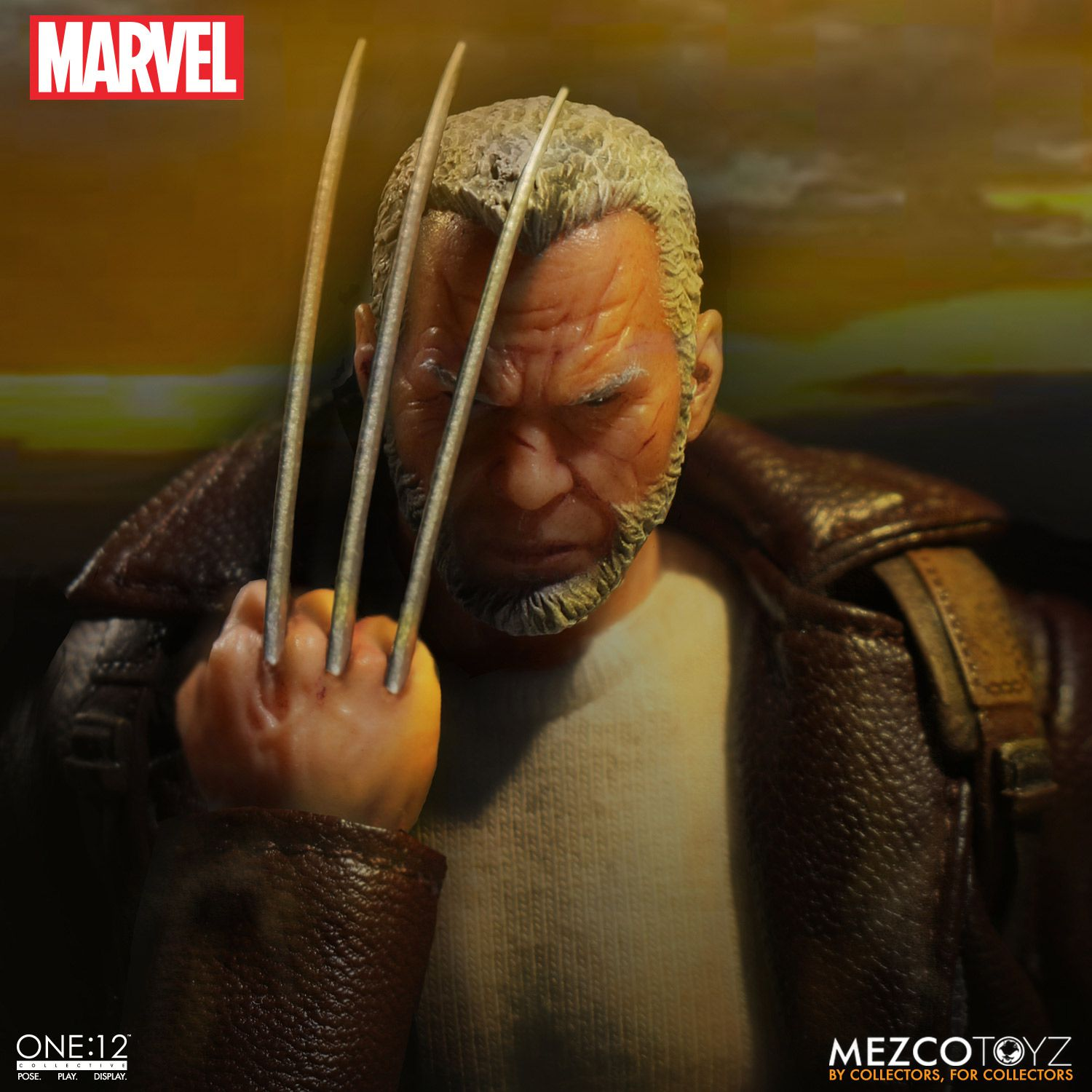 Mezco One:12 Collective Marvel Wolverine Old Man Logan Figure