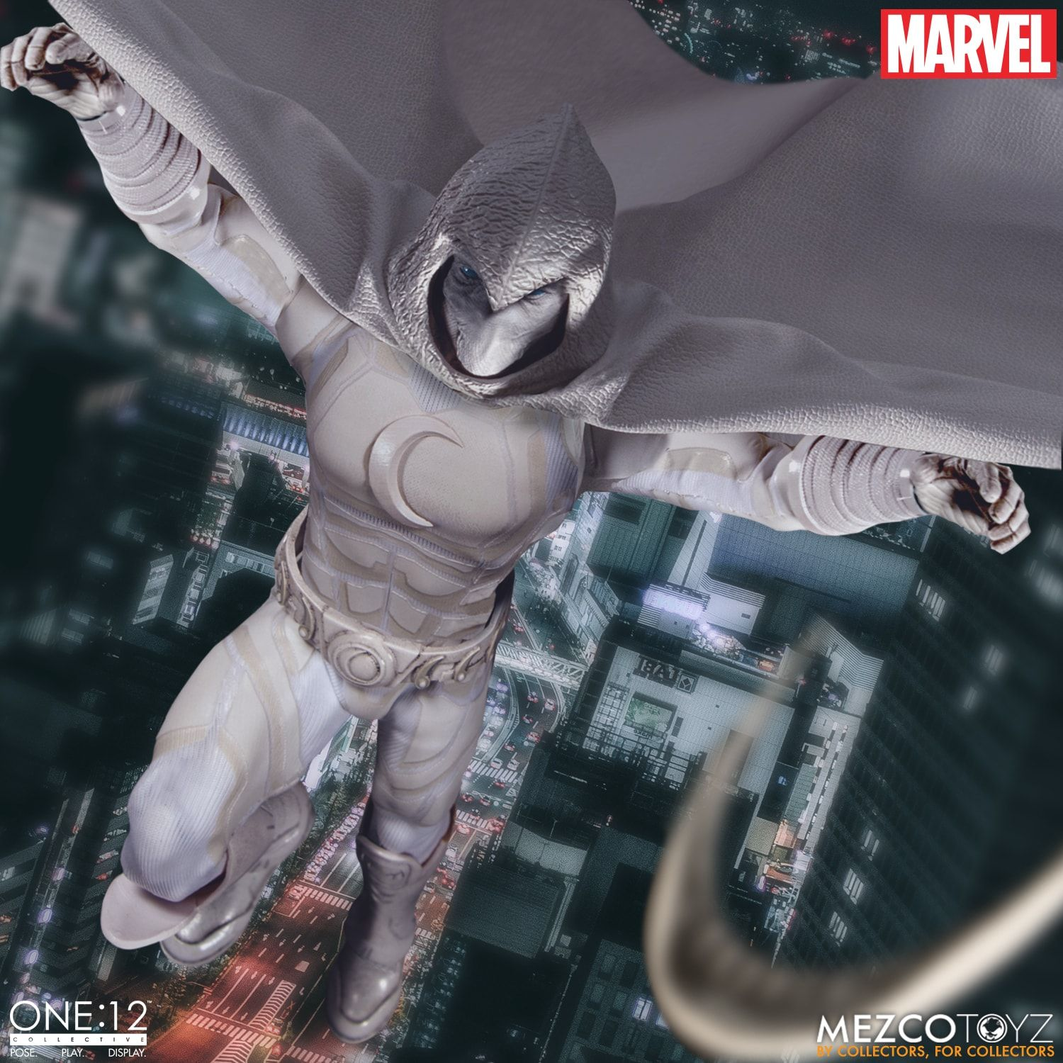 Pre-Order Mezco 1:12 Marvel Moon Knight Figure