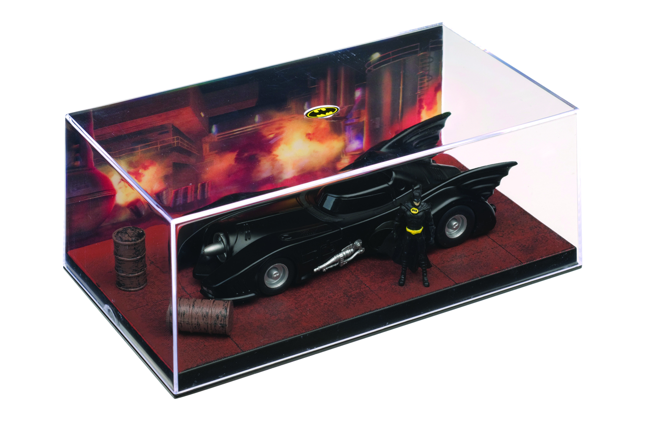 Eaglemoss Dc Comics Automobilia Dark Knight Rises The Bat Movies Tv