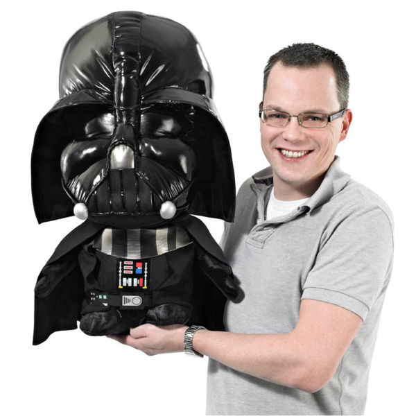 "Underground Toys 24"" Super Deluxe Darth Vader Talking Plush"
