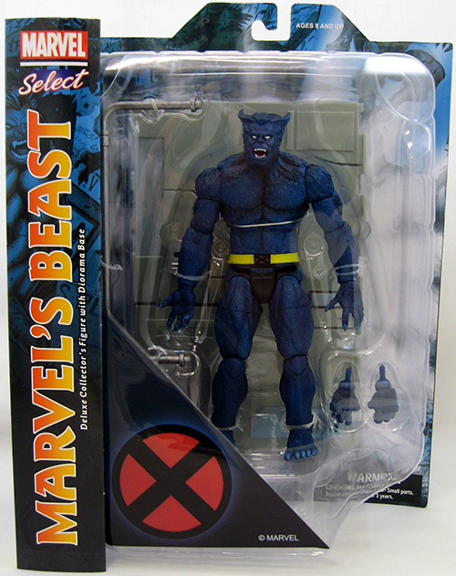 Marvel Select Beast Action Figure