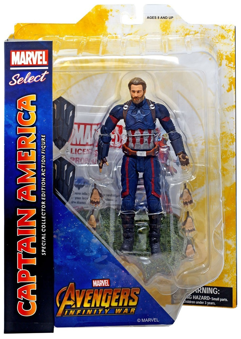 Marvel Select Captain America Infinity War Action Figure