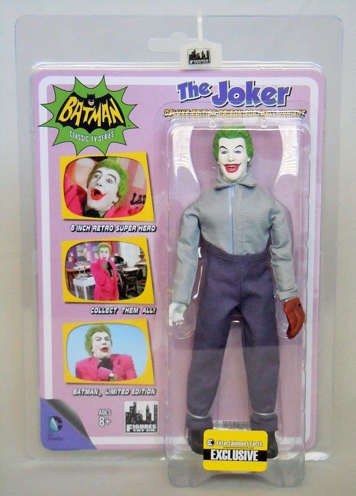 "PRISON SOFTBALL JOKER 1966 Batman TV Series 8/"" Retro Mego Action Figures Toy Co."
