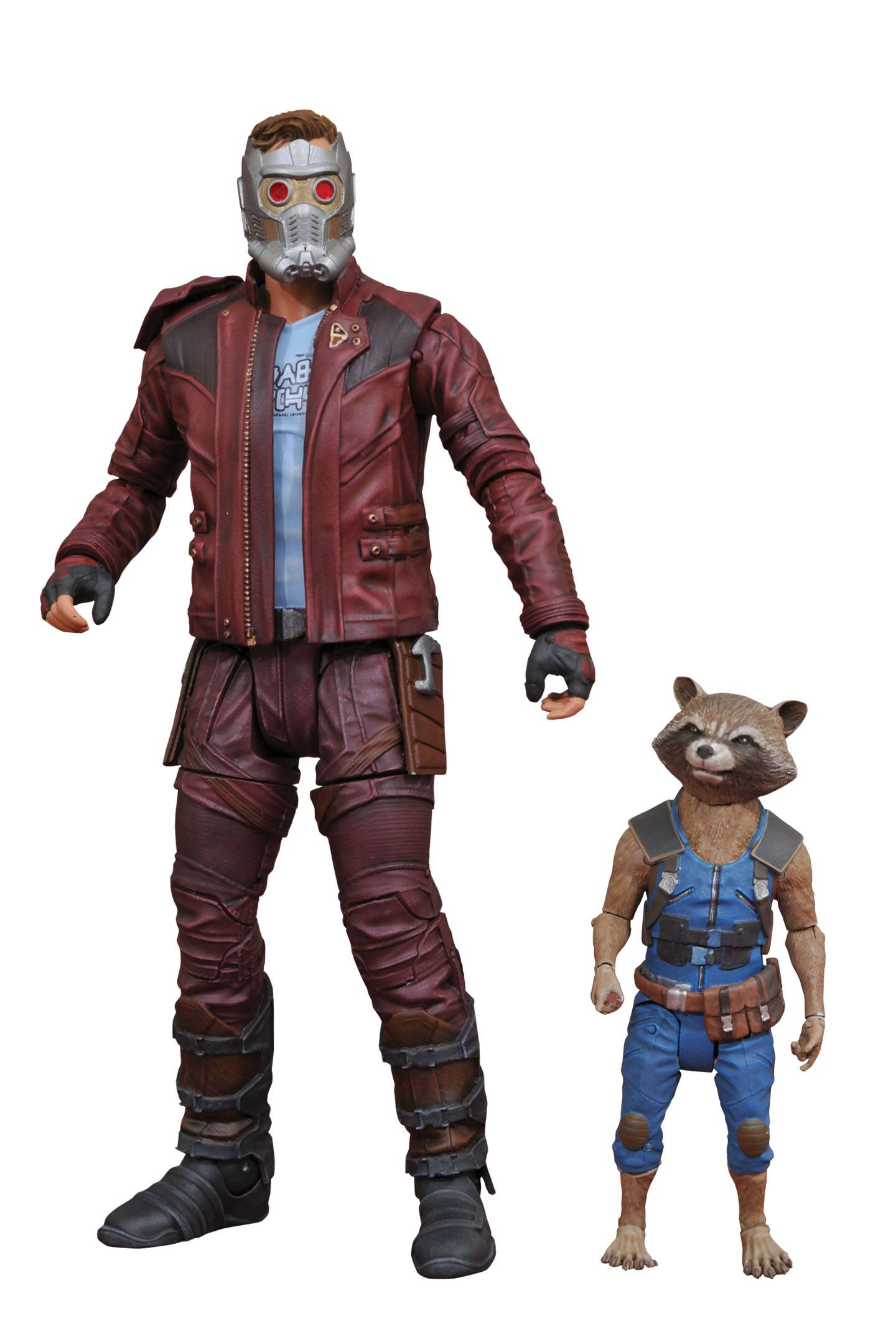 Marvel Select Guardians Star-Lord & Rocket Action Figure