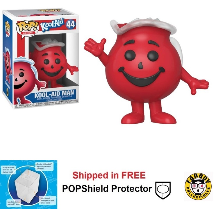 Funko POP Ad Icon Kool-Aid Man Figure - #44