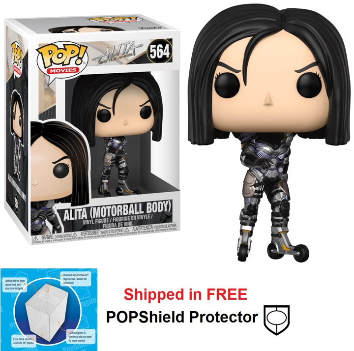 Funko POP Movie Alita Battle Angel Motorball Body - #564
