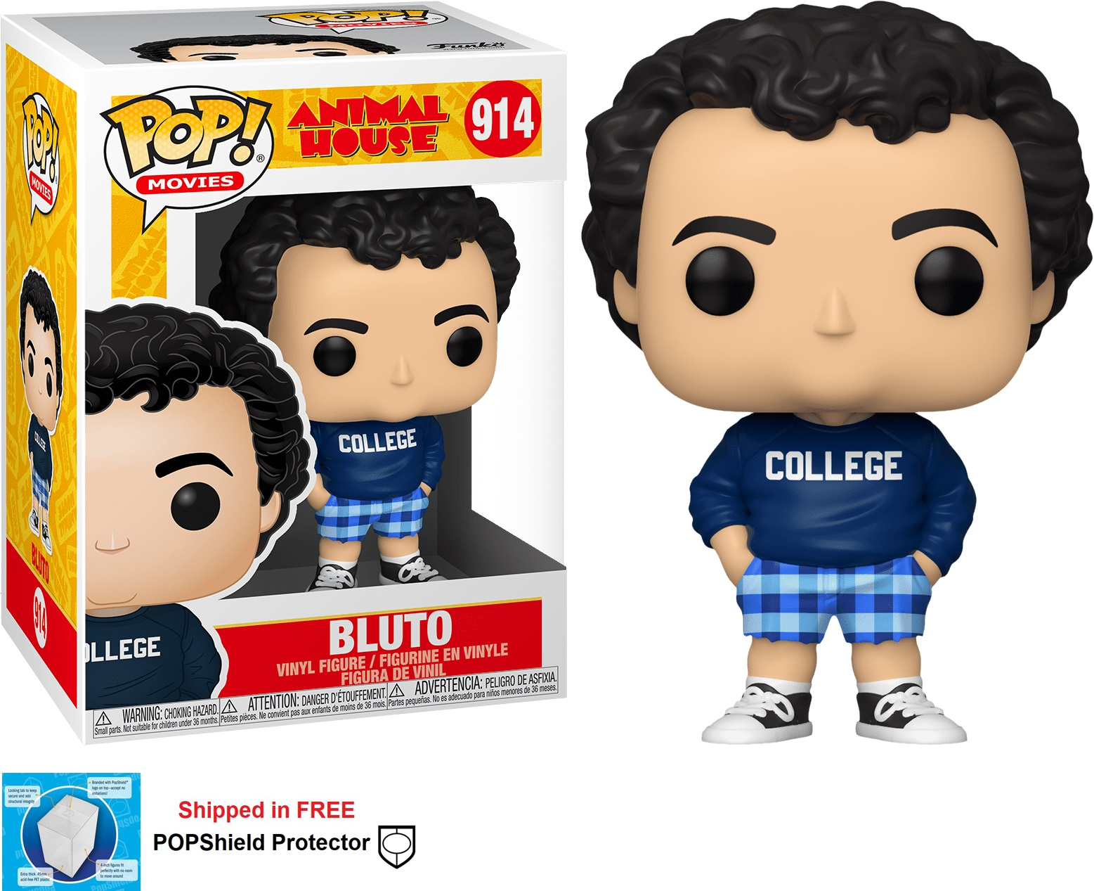 Funko POP Movies Animal House Bluto College - #914