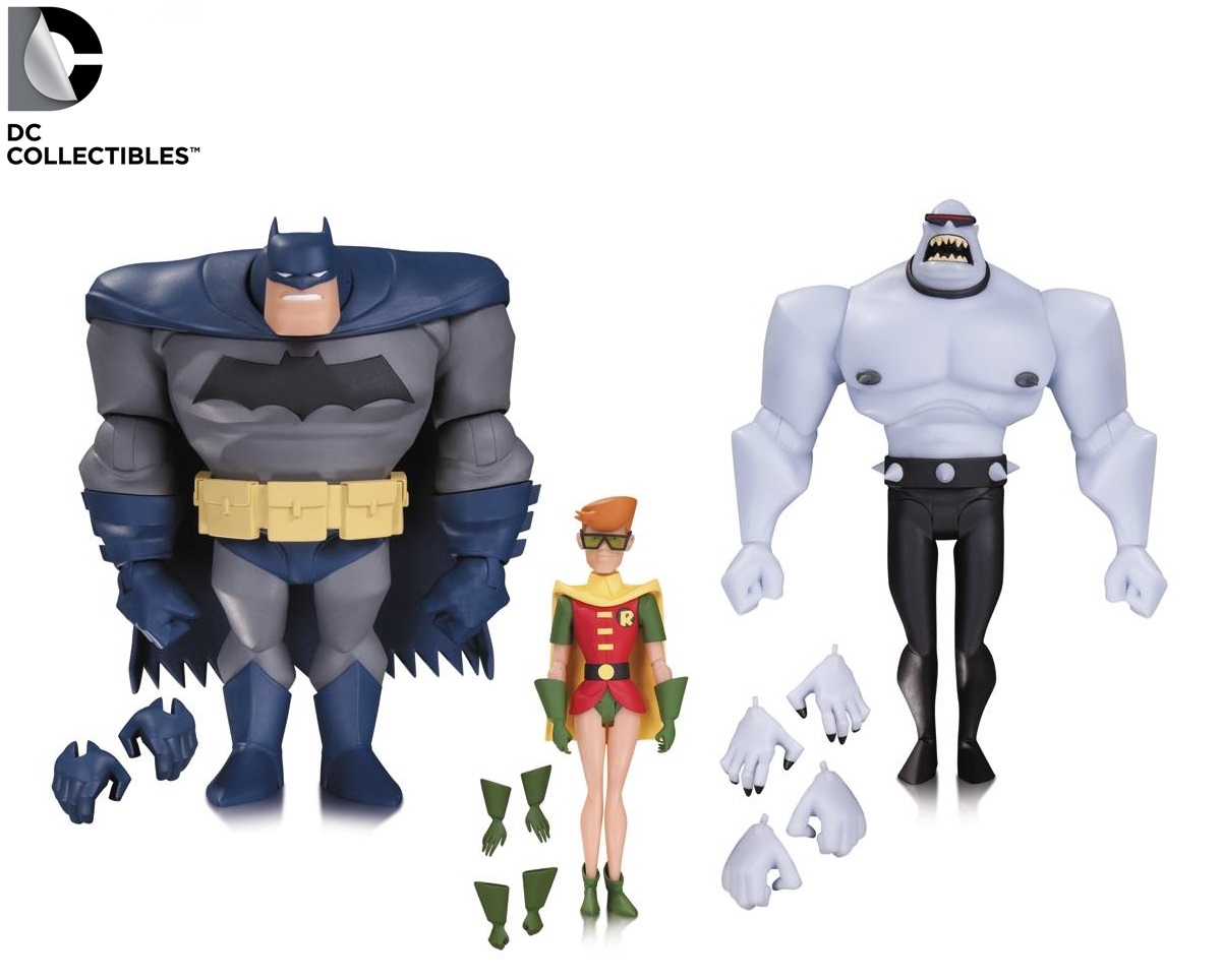 DC Comics Batman Animated Legends of the Dark Knight (NBA) Set