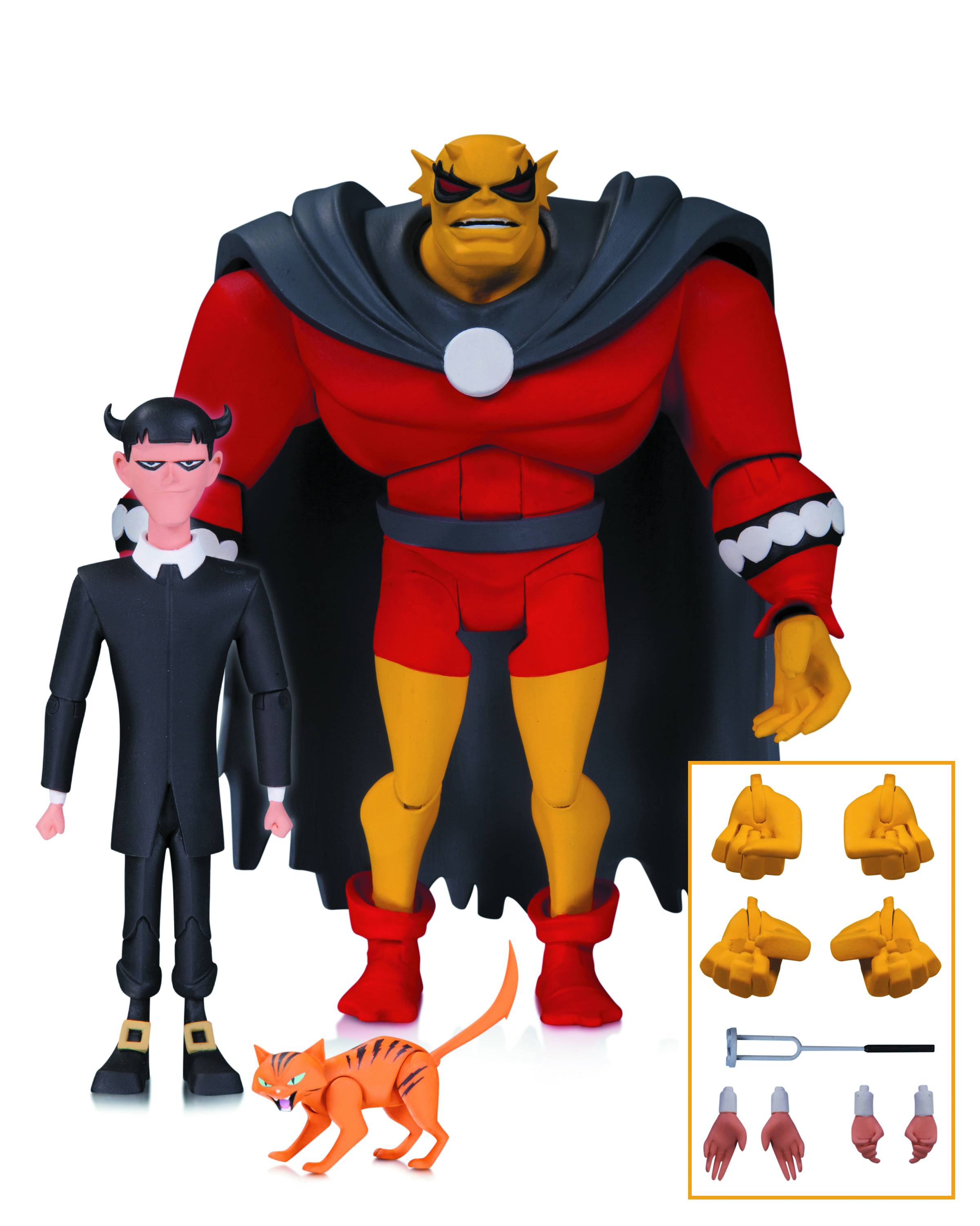 DC Comics Batman Animated Etrigan with Klarion (BAS) Figure