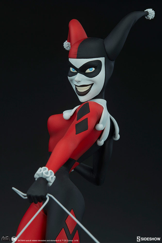 DC Comics Batman Animated Harley Quinn (BAS) Figure