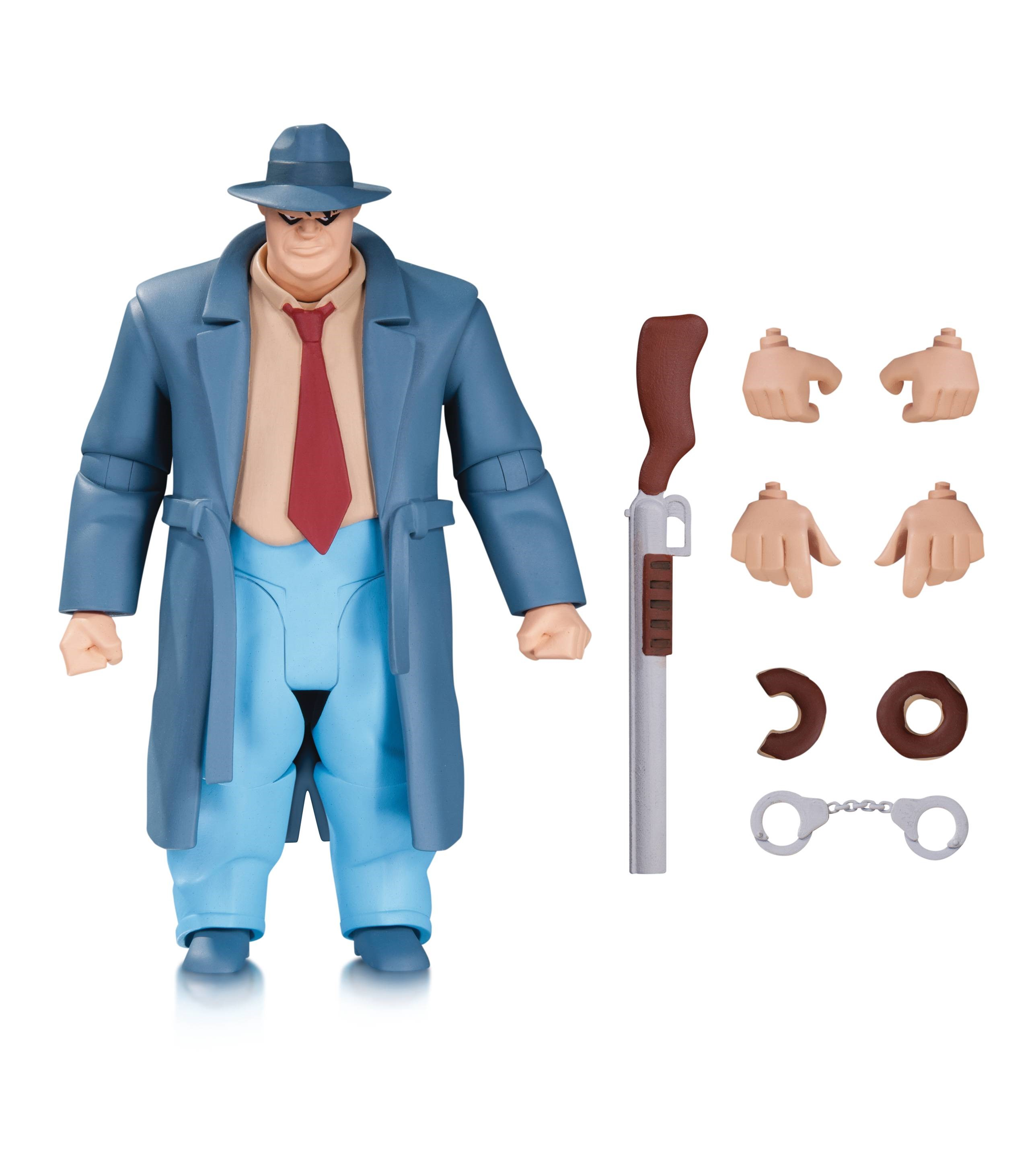 DC Comics Batman Animated Harvey Bullock (NBA) Figure