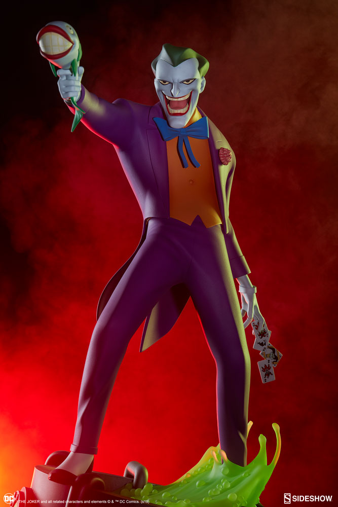 Pre-Order Sideshow DC Comics Batman Animated Series Joker Statue