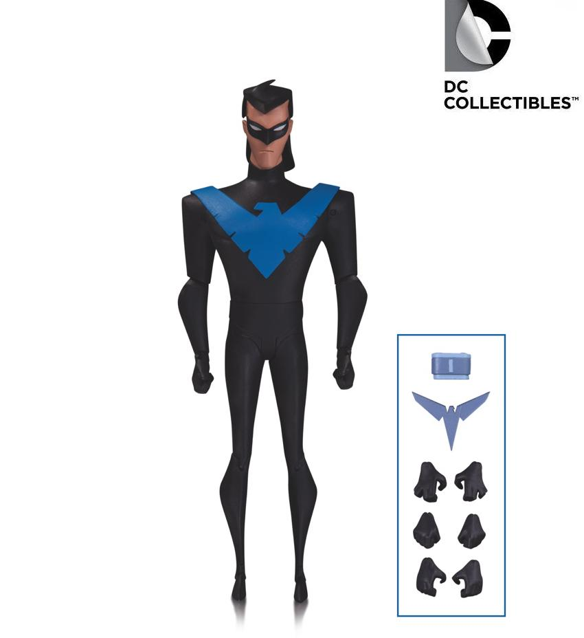 DC Comics Batman Animated Nightwing (NBA) Figure