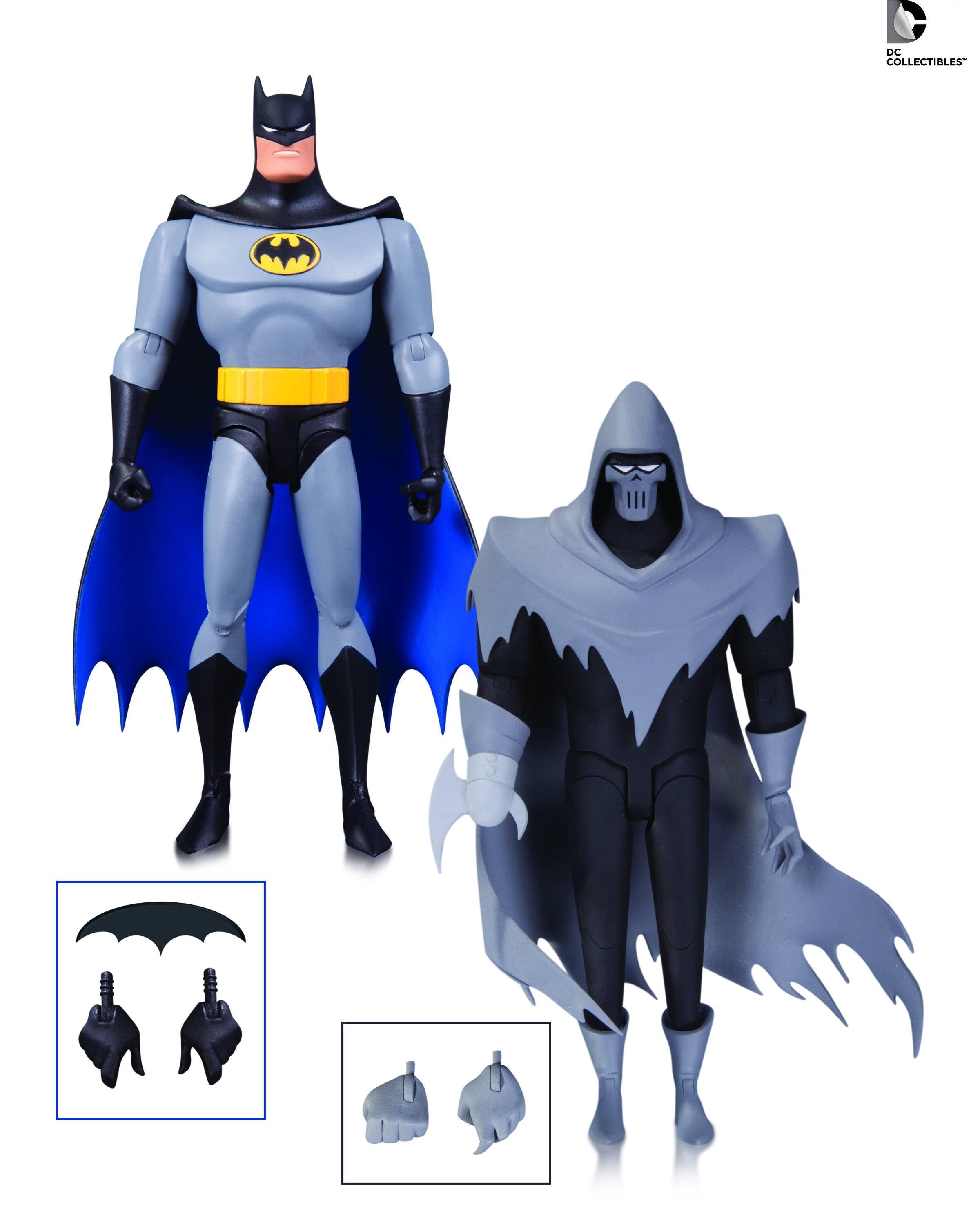 DC Comics Batman Animated Mask of the Phantasm (BAS) 2-Pack