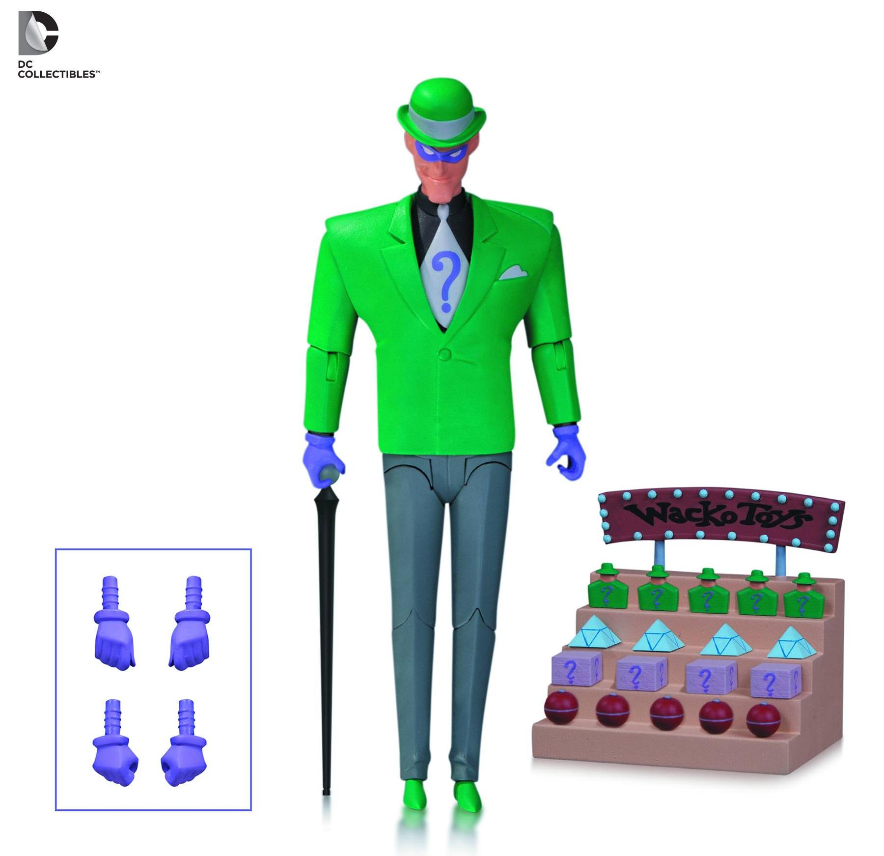 DC Comics Batman Animated Riddler (BAS) Figure