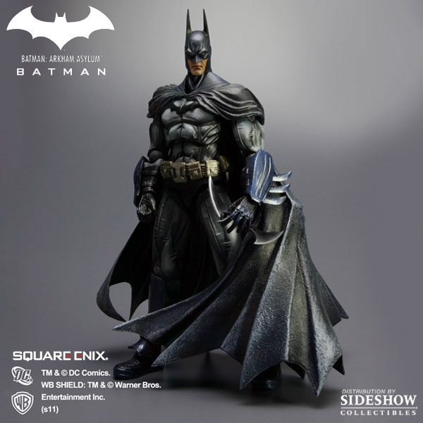 Square Enix Arkham Asylum Play Arts Batman Figure