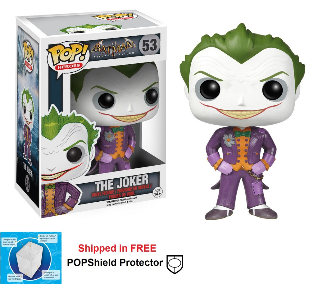 Funko POP DC Comics Arkham Asylum Joker Figure - #53