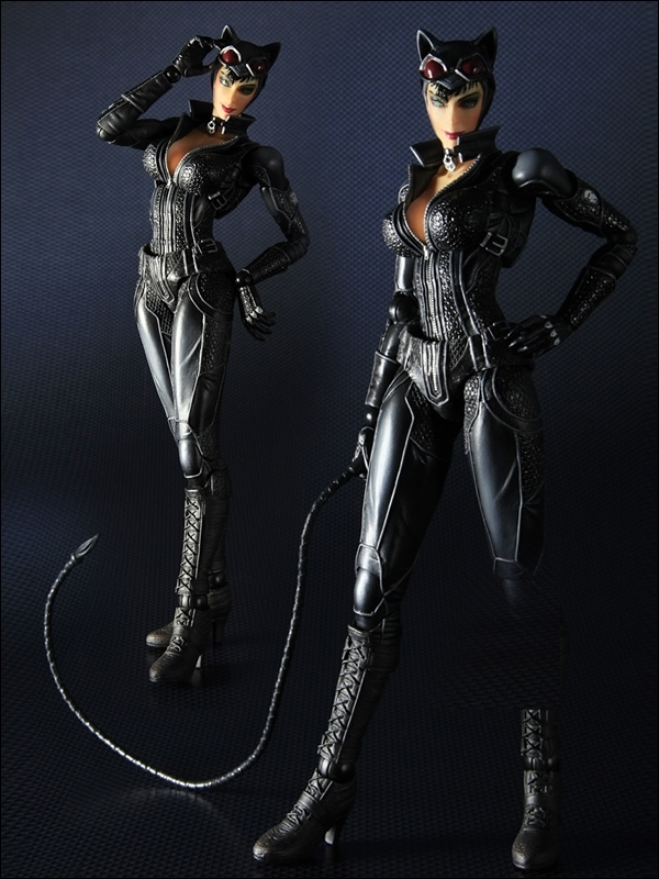 Square Enix Arkham City Play Arts Catwoman Figure