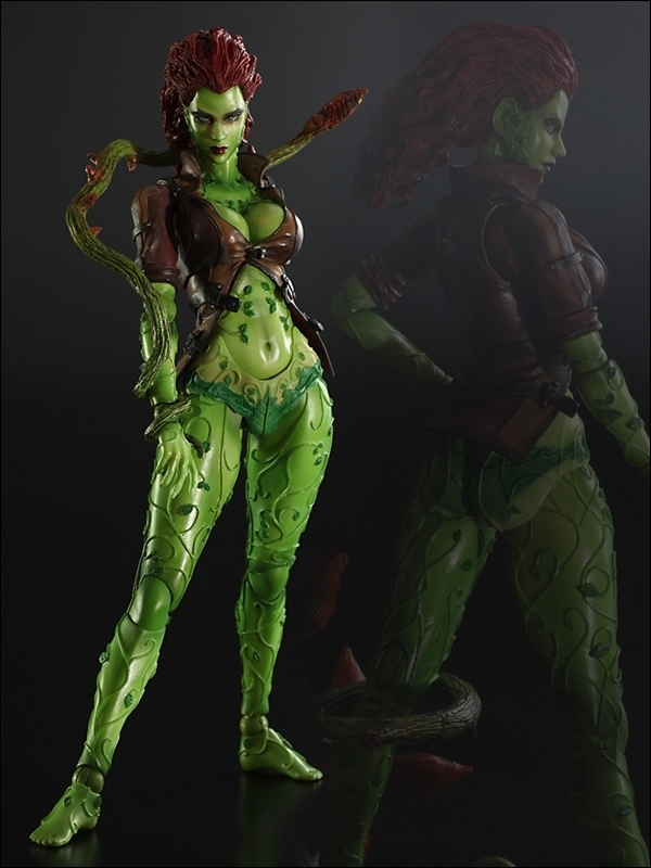 Square Enix Arkham City Play Arts Poison Ivy Figure