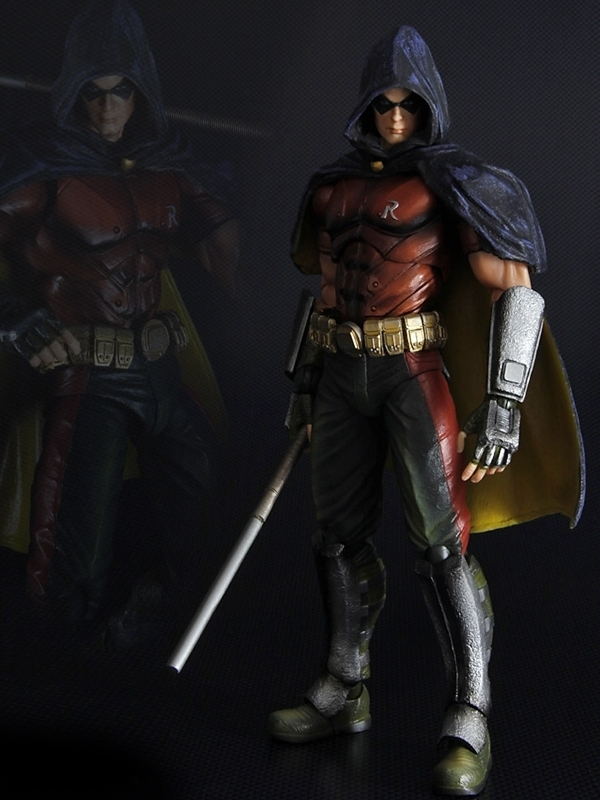 Square Enix Arkham City Play Arts Robin Figure