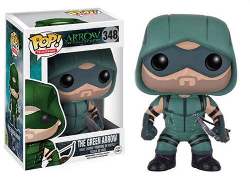 Funko POP DC Comics Arrow The Green Arrow Figure - #348