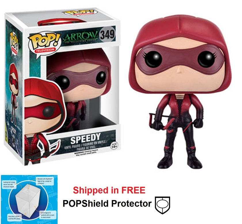 Funko POP DC Comics Arrow Speedy Figure - #349