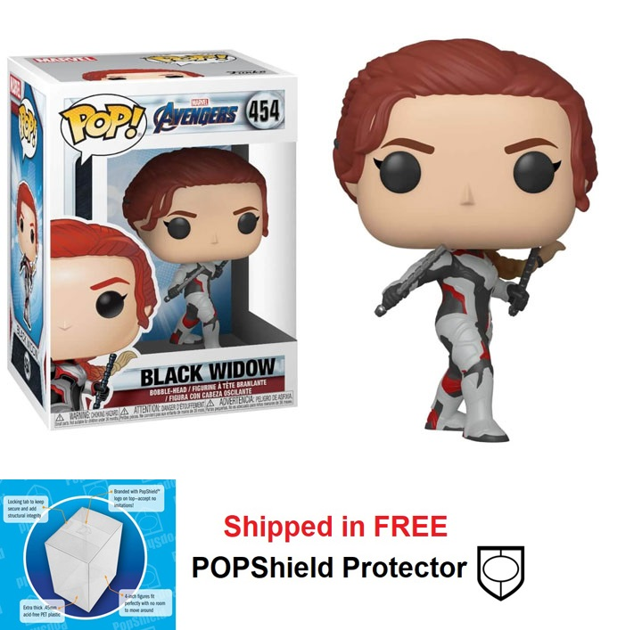 Funko POP Marvel Avengers Endgame Black Widow Figure - #454