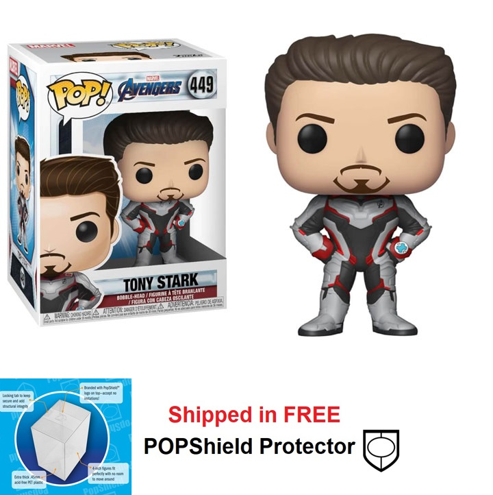Funko POP Marvel Avengers Endgame Tony Stark Figure - #449