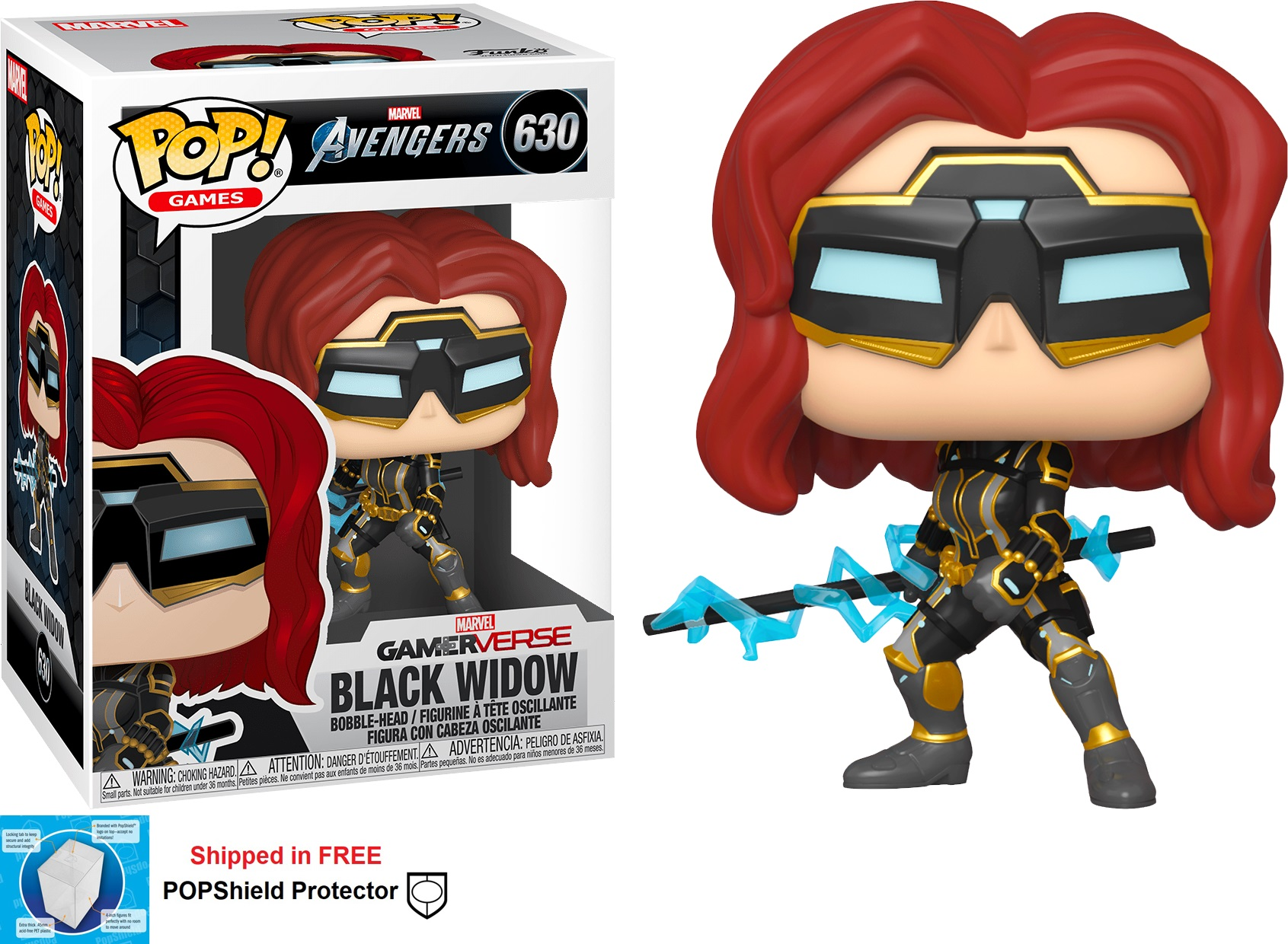 Funko POP Marvel Avengers Gamerverse Black Widow - #630