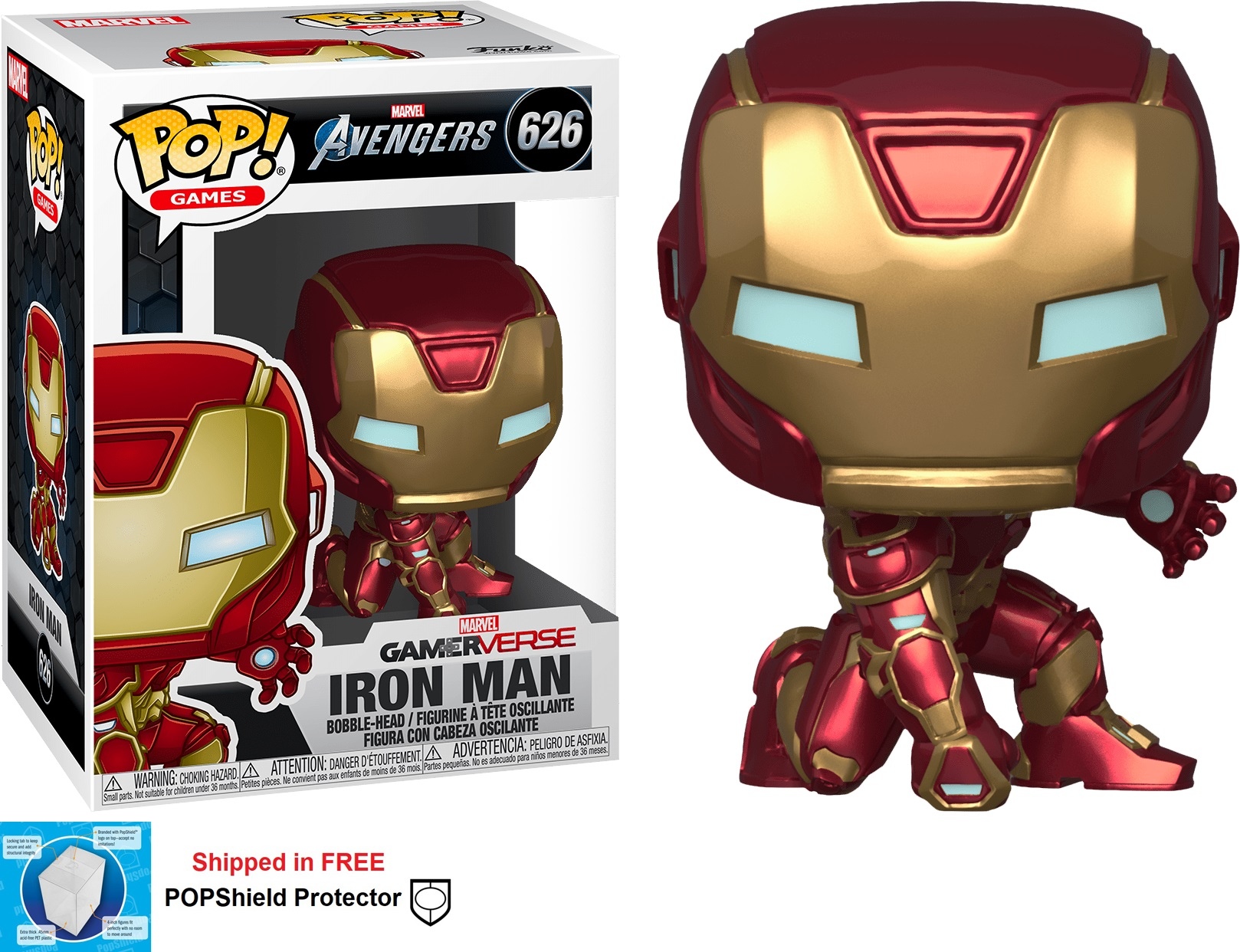 Funko POP Marvel Avengers Gamerverse Iron Man - #626