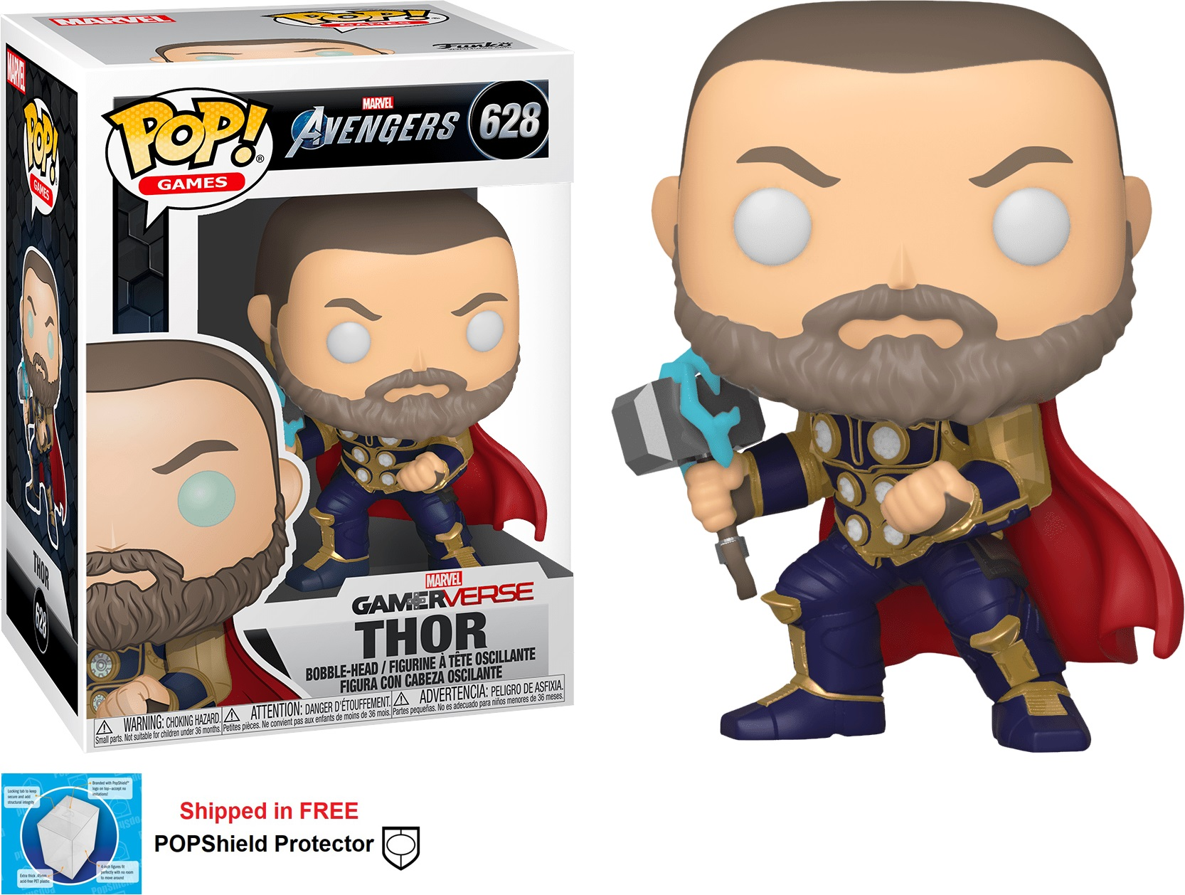 Funko POP Marvel Avengers Gamerverse Thor - #628