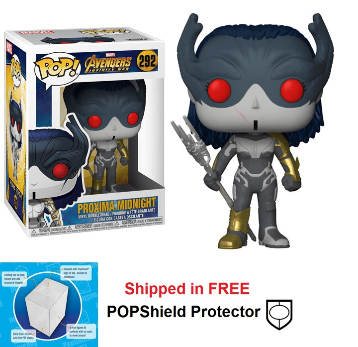 Funko POP Marvel Avengers Infinity War Proxima Midnight - #292