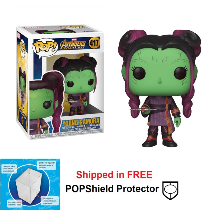 Funko POP Marvel Avengers Infinity War Young Gamora - #417