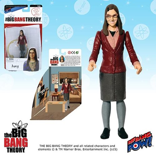 Bif Bang Pow Big Bang Theory Amy Farrah Fowler Figure