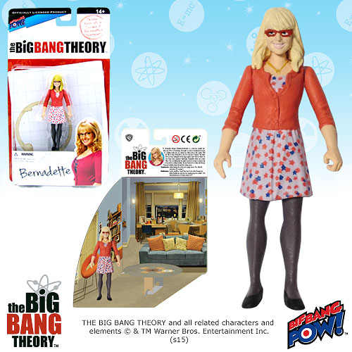 Bif Bang Pow Big Bang Theory Bernadette Figure