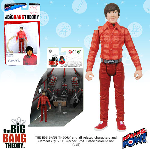 Bif Bang Pow Big Bang Theory Howard Figure