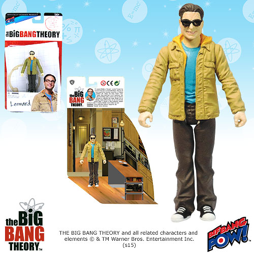 Bif Bang Pow Big Bang Theory Leonard Figure