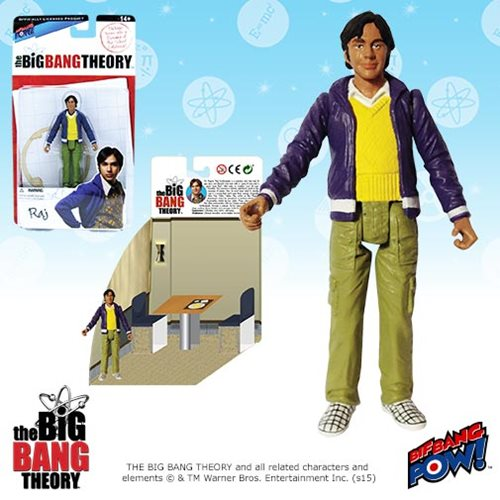 Bif Bang Pow Big Bang Theory Raj Figure