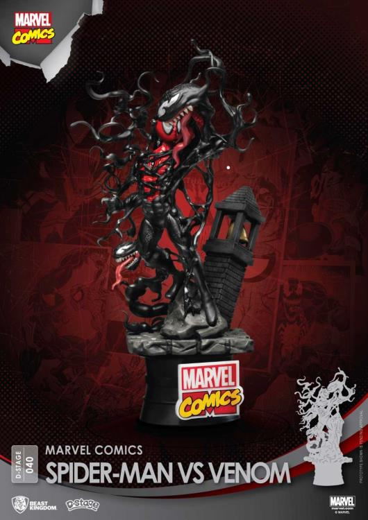 Beast Kingdom Spider-Man vs. Venom Statue
