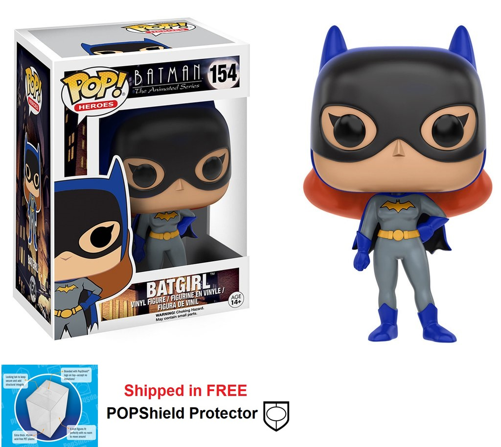 Funko POP DC Comics Animated Series Batgirl Figure - #154