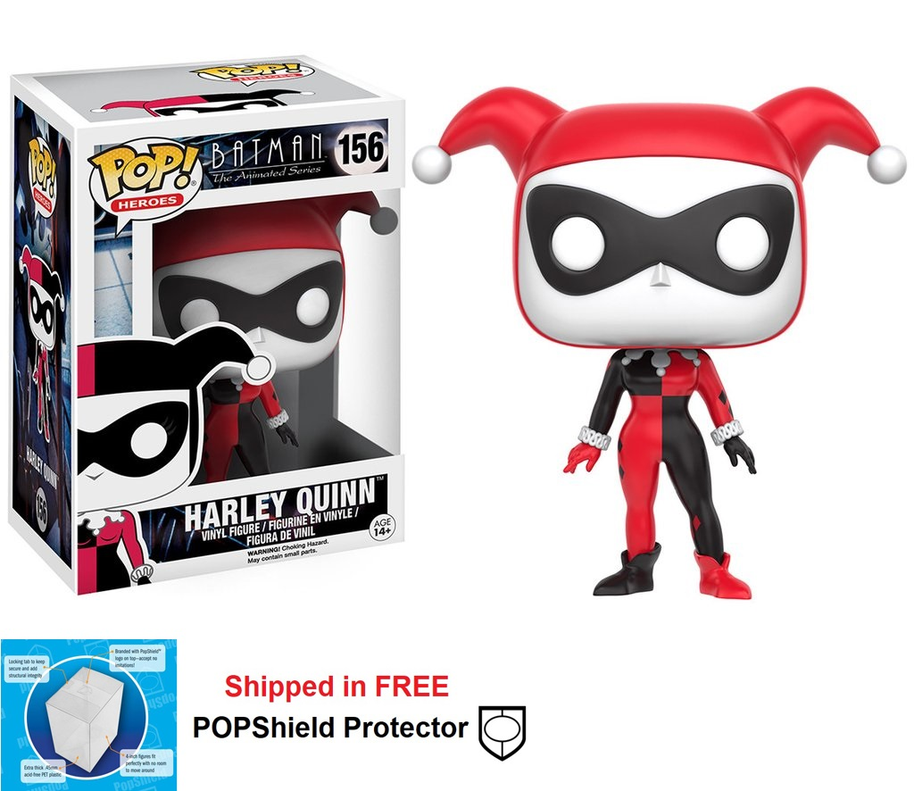 Funko POP DC Comics Animated Series Harley Quinn Figure - #156
