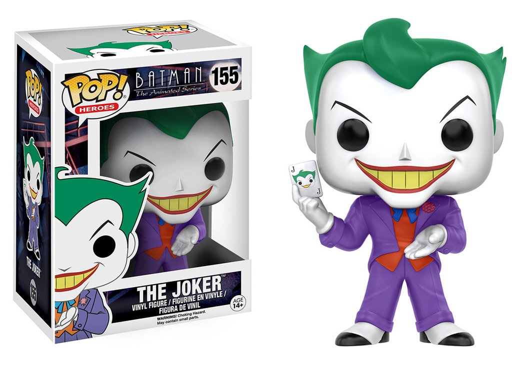 Funko POP DC Comics Animated Series Joker Figure - #155