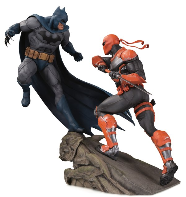 Pre-Order DC Comics Batman vs Deathstroke Statue