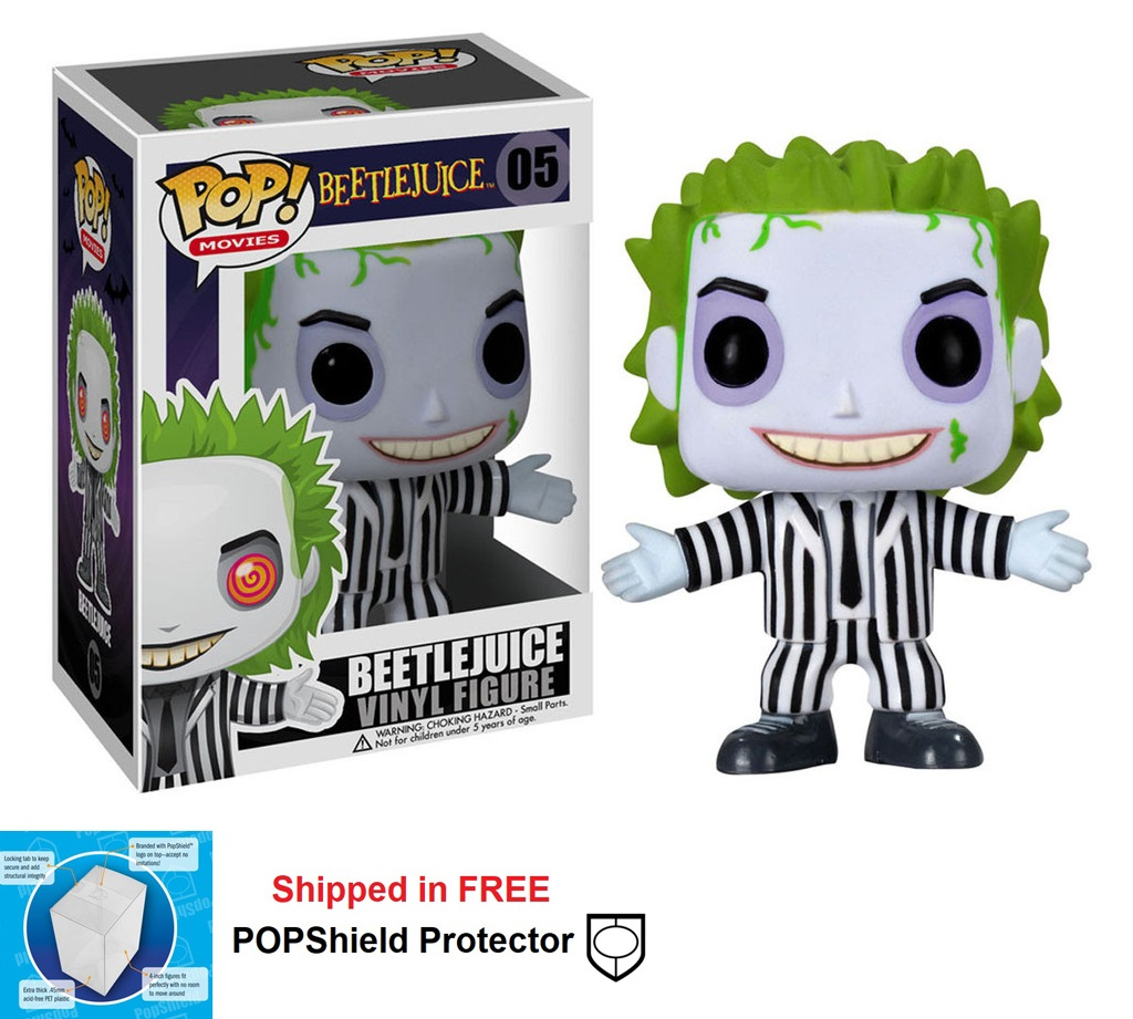 Funko POP Movies Beetlejuice Figure - #05