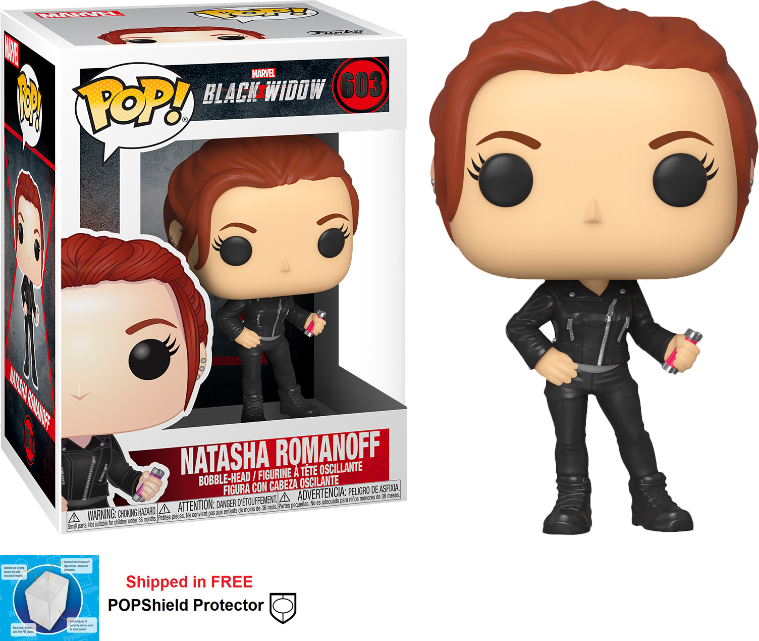 Funko POP Marvel Black Widow Movie Natasha Romanoff - #603