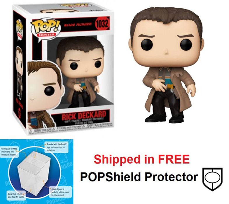Funko POP Movies Blade Runner Rick Deckard Figure - #1032