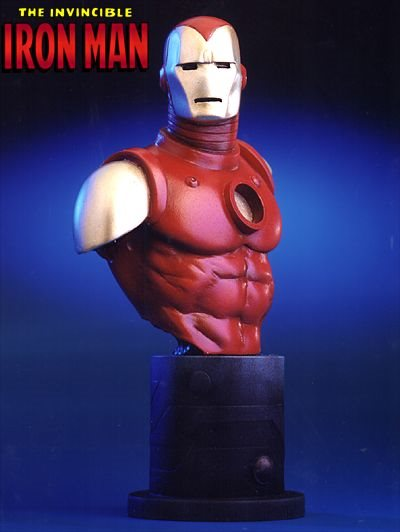 Bowen Marvel Invincible Iron Man Mini-Bust