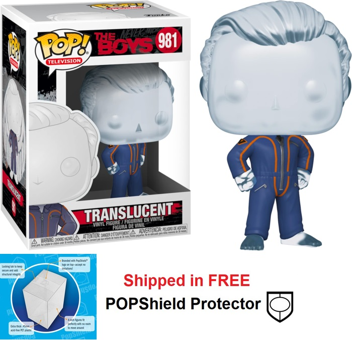 Funko POP TV The Boys Translucent - #981